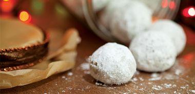 Buckwheat Snowballs