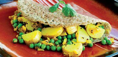 Dosas (Savoury Indian Pancakes)