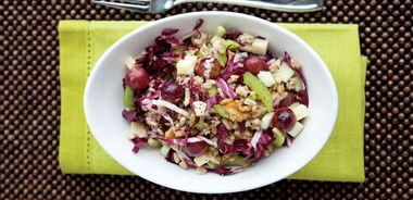 Oat Waldorf Salad