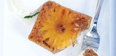 Upside-Down Pineapple Quinoa Cake