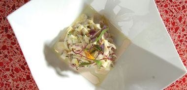 Blue Cheese and Apple Coleslaw