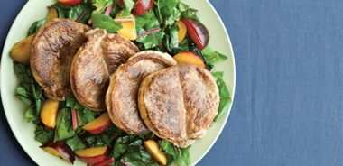 Pork Chops with Sherried Plums