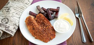 Fish and (Beet) Chips