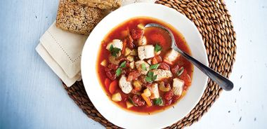 One-Pot Catfish Tomato Stew