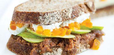 Almond Pear Sandwich