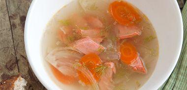 Bistro Salmon Soup