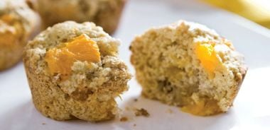 Mandarin Walnut Muffins