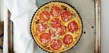 Tomato Leek Tart