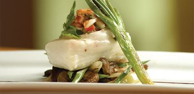 Dungeness Crab Crusted Halibut