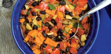 Black Bean and Sweet Potato Chili