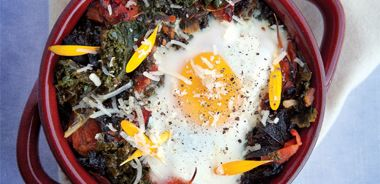 Marigold Baked Eggs