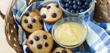 Blueberry Almond Tea Cakes