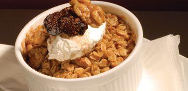 Apple, Walnut, and Fig Oat Crisp