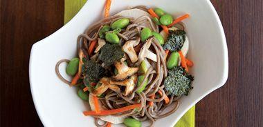 Soba Vegetable Noodle Bowl