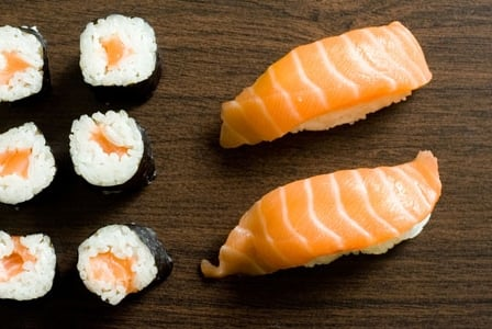 Make Healthier Choices the Next Time You Fill Up On Sushi