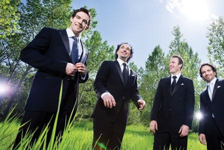 Four Regular Guys (in Tuxedos)