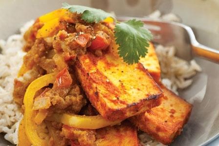 Meatless Monday: Tofu Tikka Masala