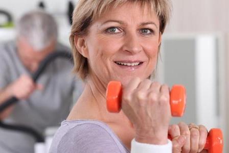 Breathe Easier: Light Weights Work, Too!