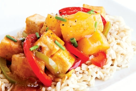 Meatless Monday: Sweet and Sour Tofu
