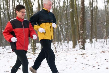 Senior runners aren't running on empty