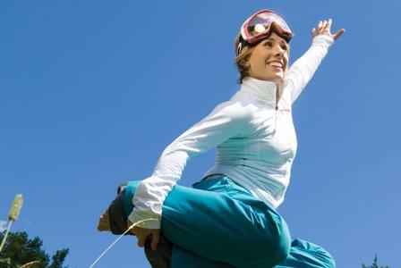 Ski Superstar Jennifer Heil