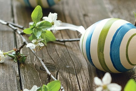 Dyeing Easter Eggs...Naturally