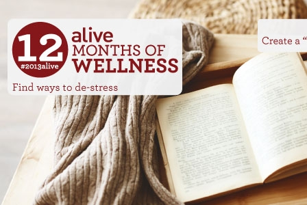 #2013alive: alive Staff Share How They De-Stress