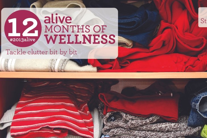 #2013alive: Get Ready to Clear Out the Clutter