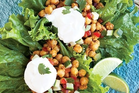 Meatless Monday: Indian Lettuce Bowls