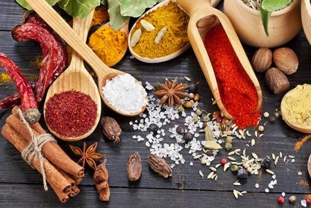 Around the World in Three Spices