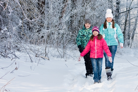 Step Out on Winter Walk Day!