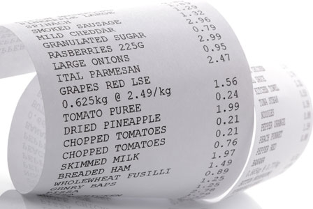 Just the receipt please - and a dose of BPA