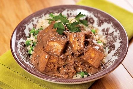 Meatless Monday: Creamy Tofu Carob Stew