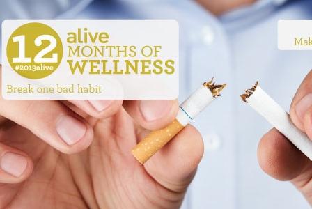 #2013alive: Commit to Breaking One Bad Habit