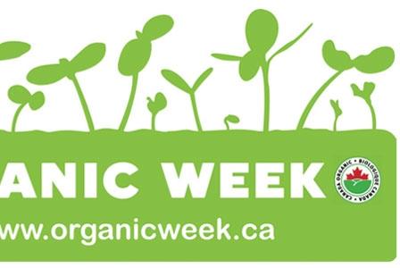 Celebrate Organic Week, September 22 to 29!