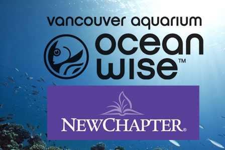 New Chapter Partners with the Vancouver Aquarium and Introduces Ocean Wise Fish Oil Supplement