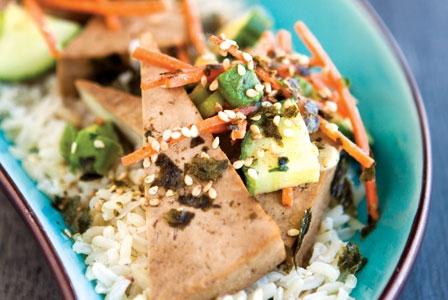 Meatless Monday: 5 Veggie Rice Bowls