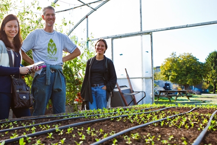 Richmond's Sharing Farm Grows Food for Local Food Bank
