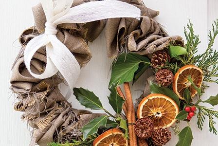 Eco-Conscious Christmas Crafting