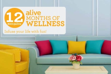 #2013alive: Liven Up your Living Space