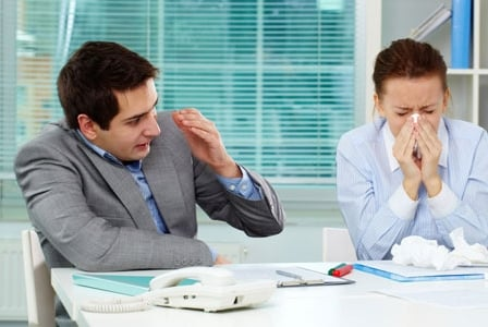 Are You Contagious? Help Your Co-Workers Avoid the Flu