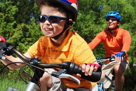 Helmets Can Help Prevent Brain Injury in Children