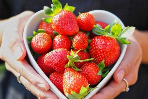 Meatless Monday: Strawberries