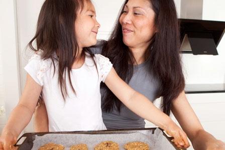 Kids in the Kitchen=Healthy Kids