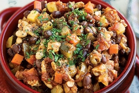 Meatless Monday: Big Batch Tempeh Chili