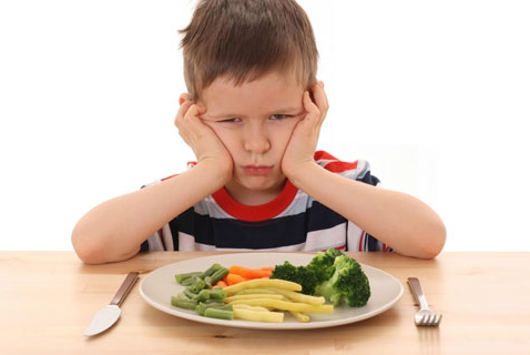 Can You Lead a Child to Veggies - And Make Him Eat?