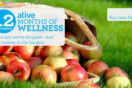 #2013alive: Be an Eco-Savvy Shopper