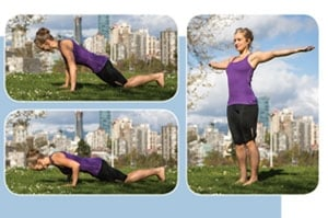 High Push-Up and Chest Stretch