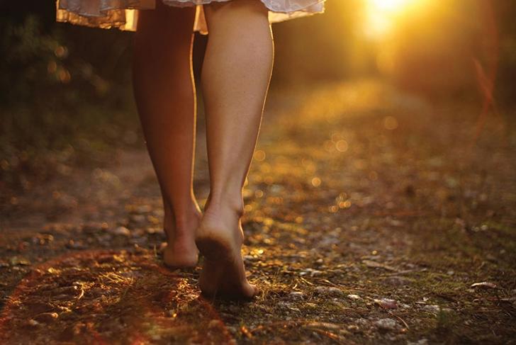 Bare Feet and Bare Soil