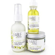 Soothe Your Skin Naturally with Fable Naturals!